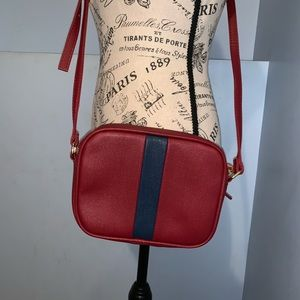 Handbags - Small crossbody bag red and blue NWOT